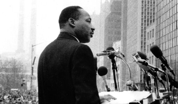 Martin Luther King, Jr. on Broadway –  He's Been There Before.