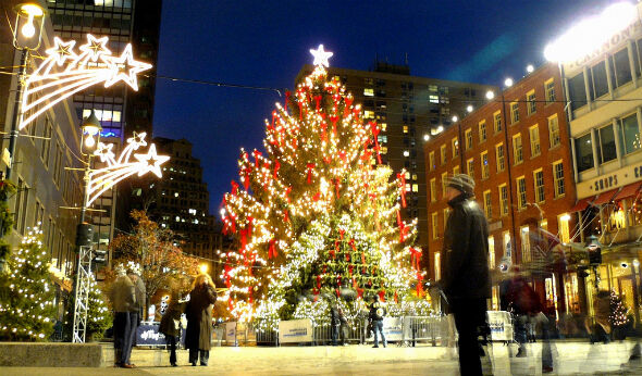 Beyond Rock Center's Christmas Tree: Alternative Tree Lightings in the Tri-State