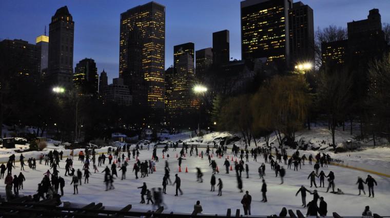 Ice-Skating Rinks to Rival Rockefeller's