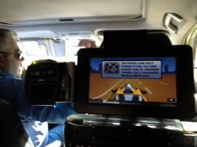 Technology in Cabs Takes Different Routes