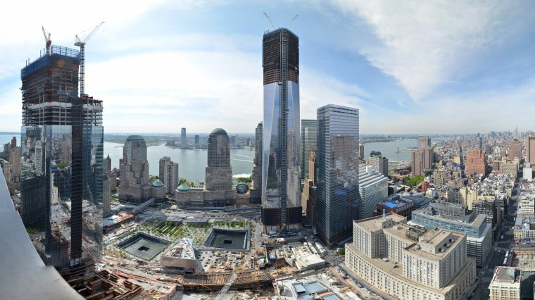 Time-lapse View: New York's Tallest Tower Rises from Ground Zero
