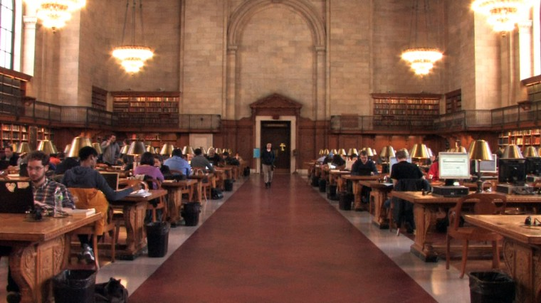 At the New York Public Library: Consolidation and Education