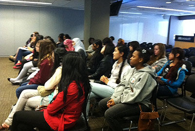 Paving a Path for Girls on NYC's Digital Frontier