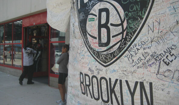 NYC's Oldest Sports Retailer & Newest Team Play Off Each Other