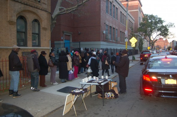 PS 92 poll site on Nov. 6, 2012 election day