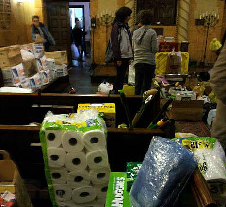 From Congregations to Occupy, Nongovernmental Groups Provide Sandy Relief