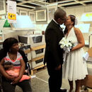 Newark couple marry in the same IKEA department they met in eight years ago