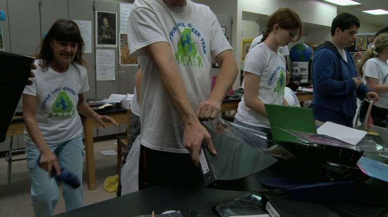 Students Cut Costs by Going Green