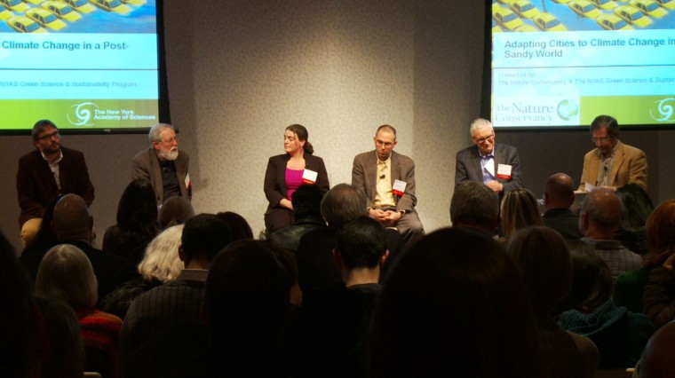 Listening in: Climate Panel Grapples with Urban Future