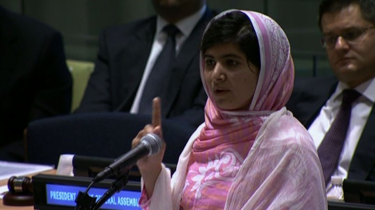 Listening In: Malala's Message to the World