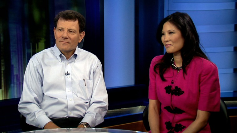 Interview with Nicholas Kristof and Sheryl WuDunn on 'Half the Sky' and Ending Violence Against Women