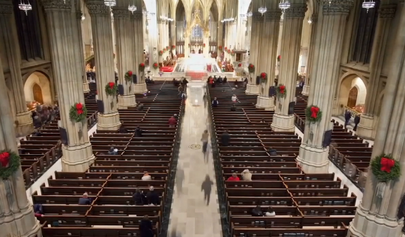 St. Patrick's Cathedral, a Treasure of New York Prepped for the Pope