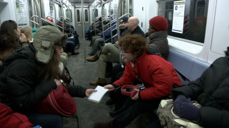 Subway Poetry Project Connects New Yorkers