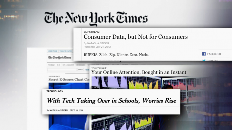 Your Data, For Sale: The New York Times' Natasha Singer Reports on Online Privacy