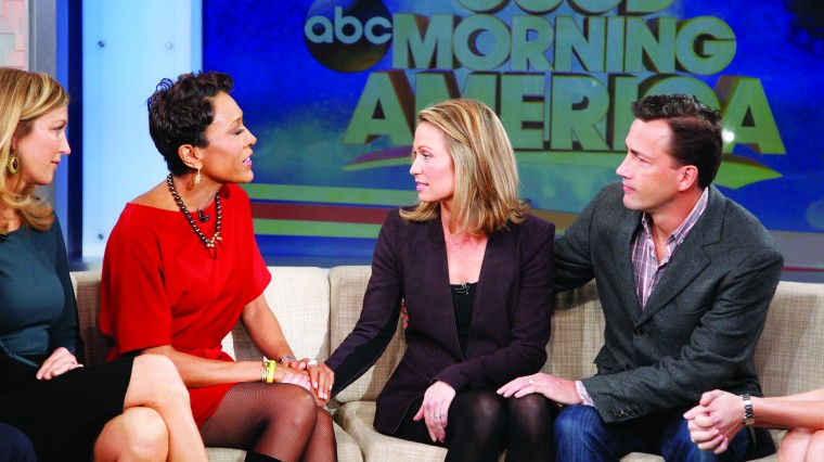 GMA's Amy Robach Talks Breast Cancer Battle