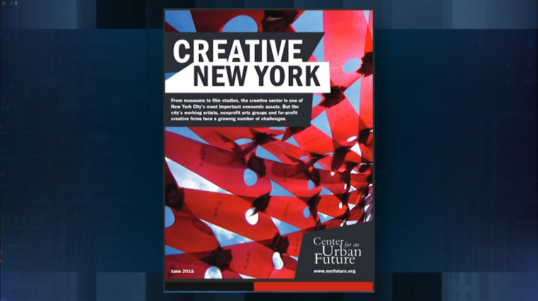 New York City's Growing Creative Sector Faces Ongoing Challenges