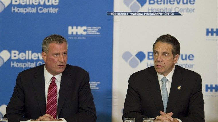 The Long History Behind New York's Feuding Mayors and Governors