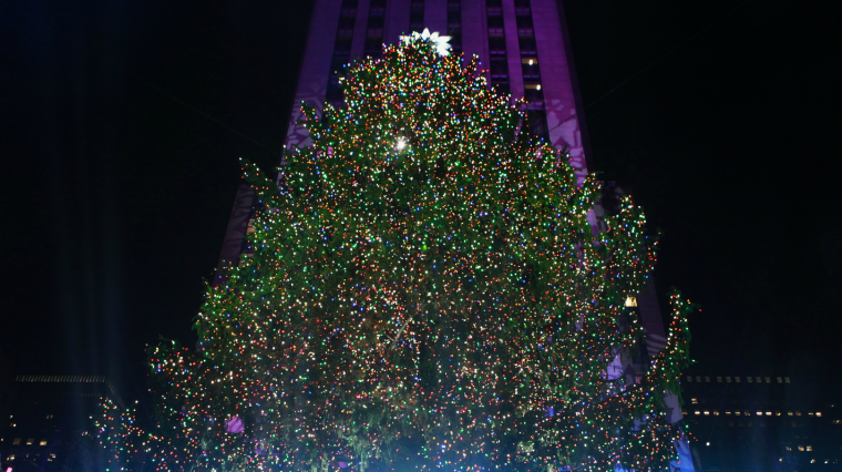 Web Exclusive: A Rockefeller Tree Lighting History Lesson With Al Roker