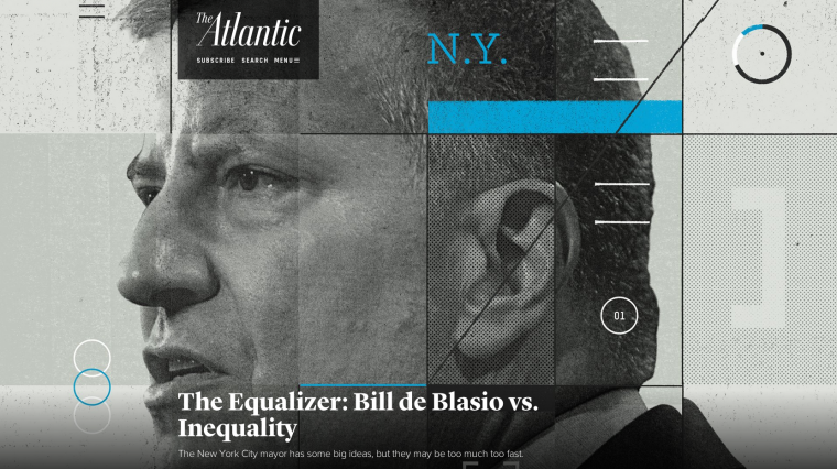 Rating Mayor de Blasio's Tenure