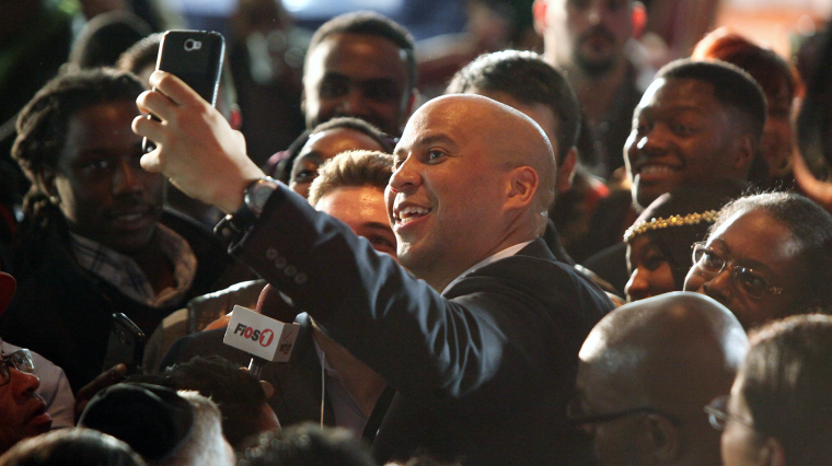 New Jersey's Cory Booker Calls For A 'United' Congress In New Book