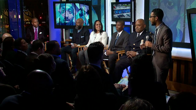 'Groundswell' Panel: The Relationship Between NYPD And Young Men Of Color