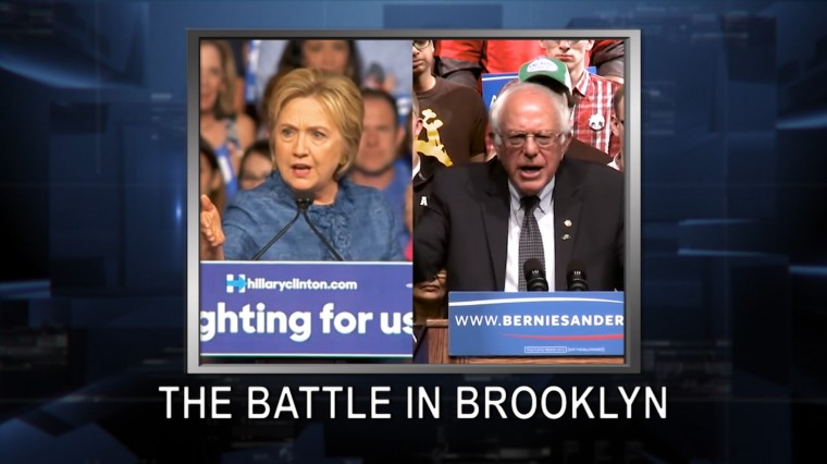 April 12, 2016: Bernie vs. Hillary. Ted Cruz. Larry King. NYC Parks