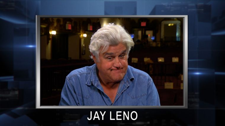 May 12, 2016: Skelos and Son Sentencing. Jay Leno One-On-One.