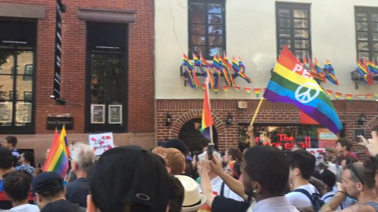 LGBT and Muslim Communities Stand Together To Denounce Violence