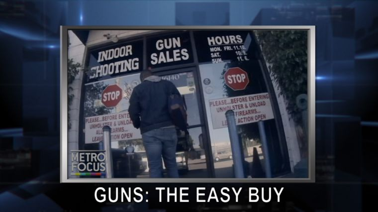 June 21, 2016: Purchasing Guns Too Easy. Wade Davis.
