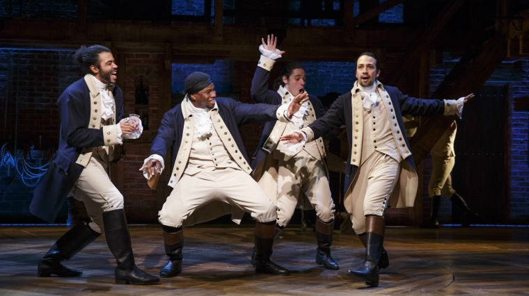 Celebrating America's History with Hamilton: an American Musical