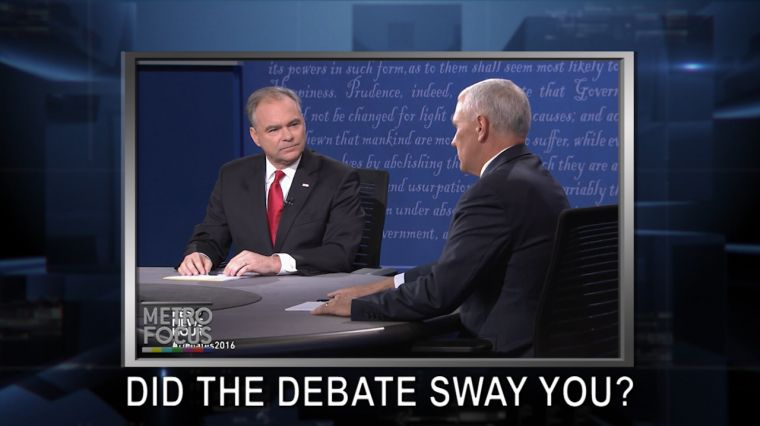October 5, 2016: Veep Debate: Does It Even Matter? Gang Violence Targets Long Island Town. Monty Python's John Cleese is CRAZY BRILLIANT!
