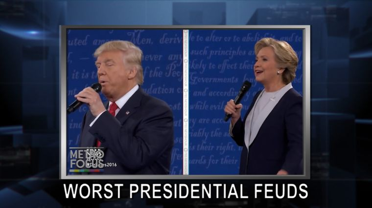 October 19, 2016: The Worst Presidential Candidate Feuds. 60 Years of The Open Mind. Breast Cancer Awareness: Country Legends Band Together.
