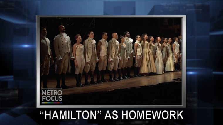 """October 20, 2016: Trump: I Will Totally Accept Election Results, If I Win. """"Hamilton"""" Teaches Students. New York Treasure Teaching Tolerance."""
