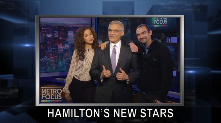 October 24, 2016: Hamilton's New Stars: Javier Muñoz & Lexi Lawson. End Poverty in NYC. Norman Lear: The Man Who Changed Television.