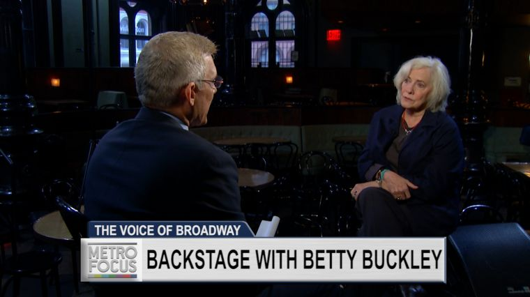 """December 1, 2016: EXCLUSIVE: A """"Memory"""" with Betty Buckley"""