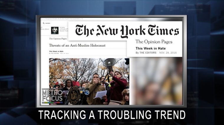 """December 1: Troubling Trends: NYT Tracks Post-Election Hate. George Mitchell and the Trump World View. EXCLUSIVE: A """"Memory"""" with Betty Buckley"""