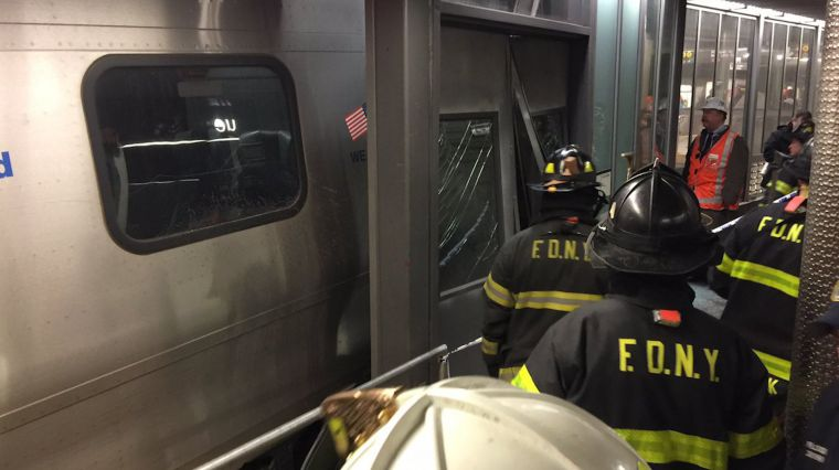 January 4, 2017: LIRR TRAIN DERAILMENT