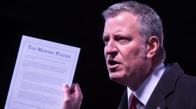 January 31, 2017: CORRUPTION WATCH: DE BLASIO IN THE HOT SEAT