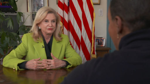 WEB EXCLUSIVE: MORE WITH REP. CAROLYN MALONEY