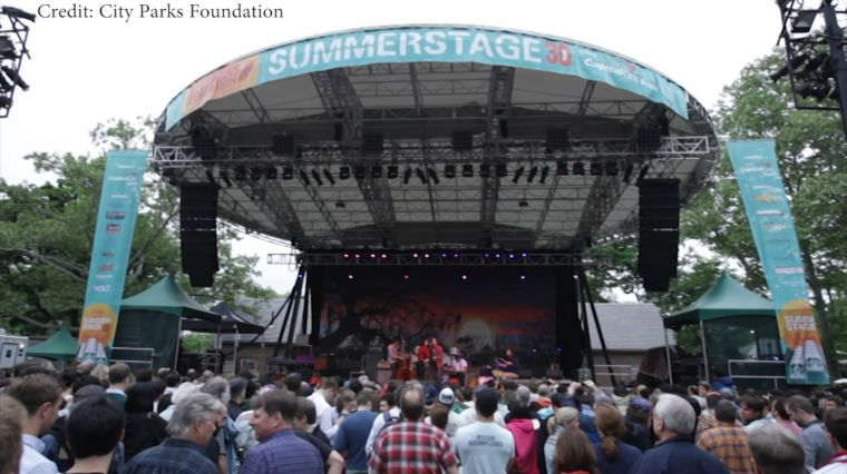"May 16, 2017: ""SUMMERSTAGE"""