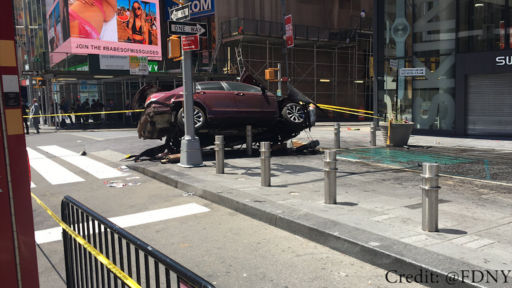 May 18, 2017: BREAKING: TIMES SQUARE TRAGEDY