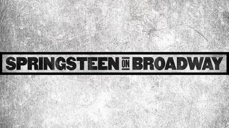 Springsteen on Broadway Ticket Registration