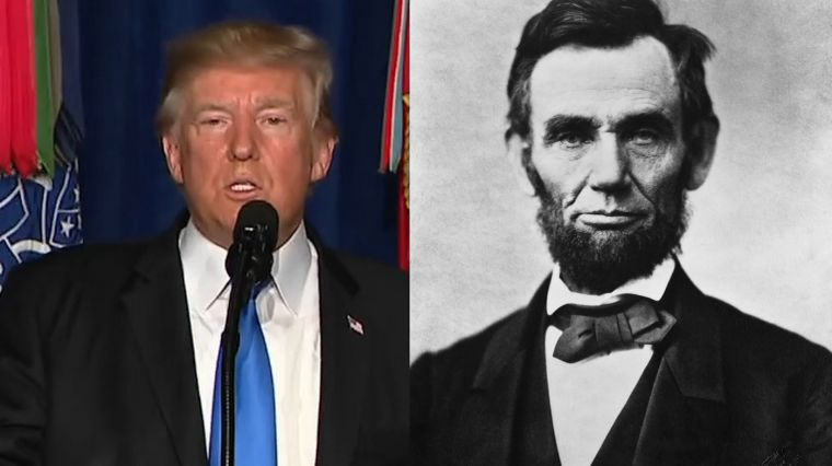 September 5, 2017: THE TRUMP-LINCOLN CONNECTION