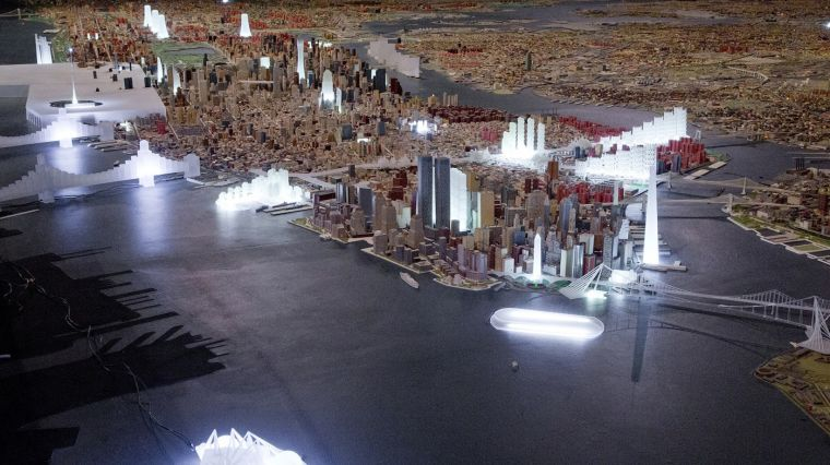 """NEVER BUILT NEW YORK"""