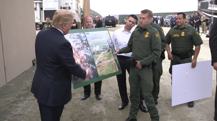 TROOPS ON THE BORDER