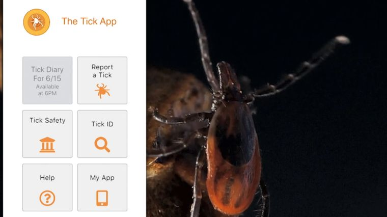 BITE BACK: THE TICK APP