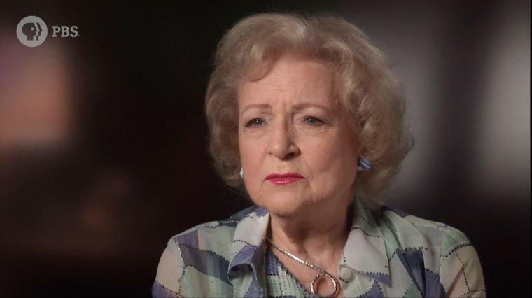 "BETTY WHITE: ""LUCKY OLD BROAD"""