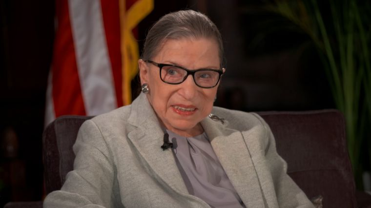 JUSTICE RUTH BADER GINSBERG IN CONVERSATION