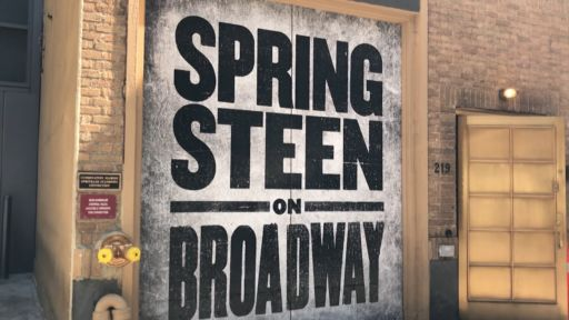 BRUCE SPRINGSTEEN'S BROADWAY BOW