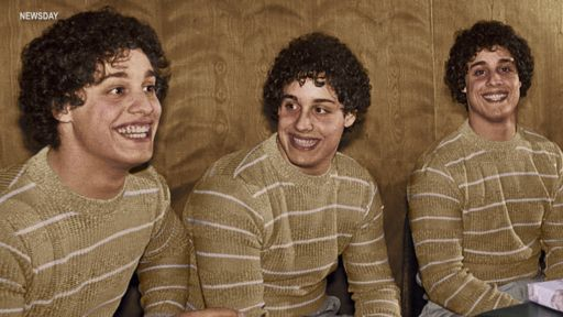 """THREE IDENTICAL STRANGERS"""